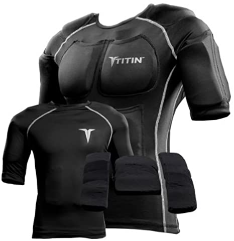 Titin weighted vest