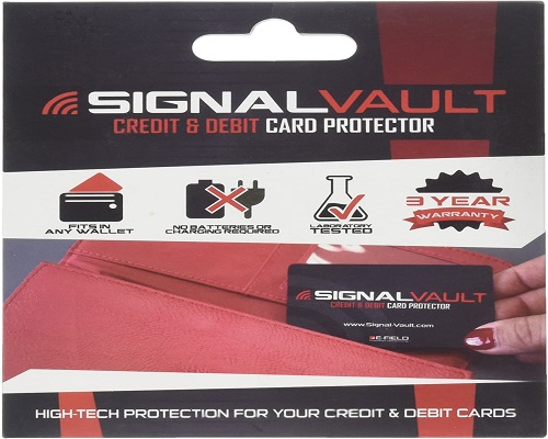 signal vault debit and credit card protector